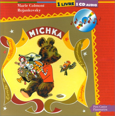 Michka (1 livre + 1 CD audio)