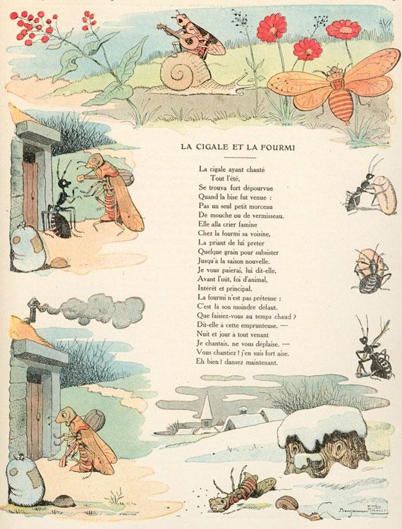 La Cigale et La Fourmi #5