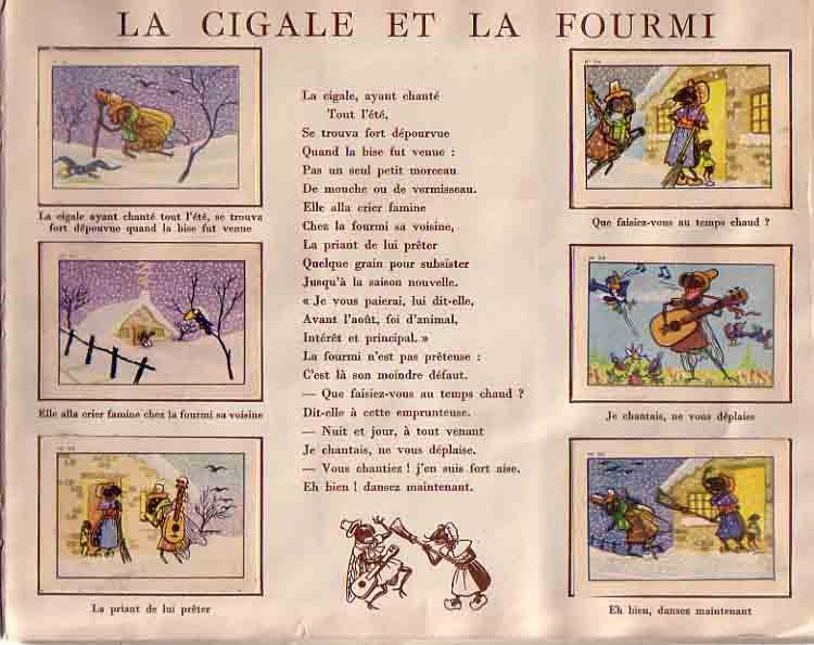 La Cigale et La Fourmi #4