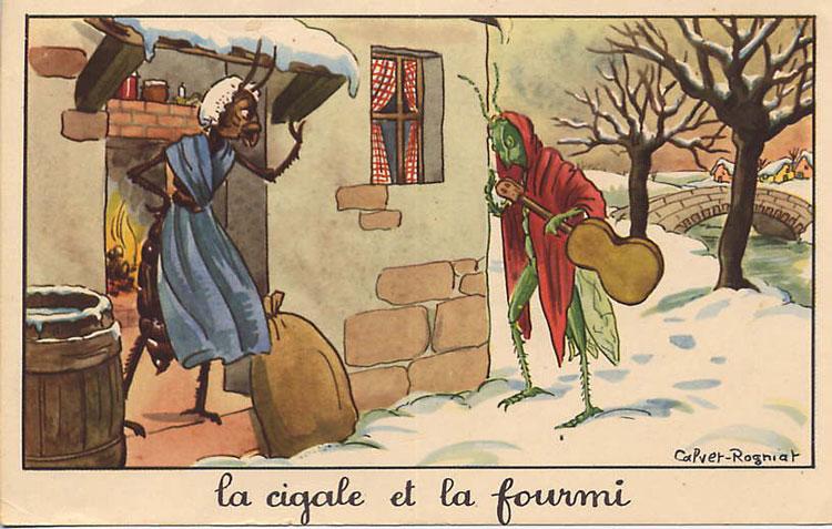 La Cigale et La Fourmi #1