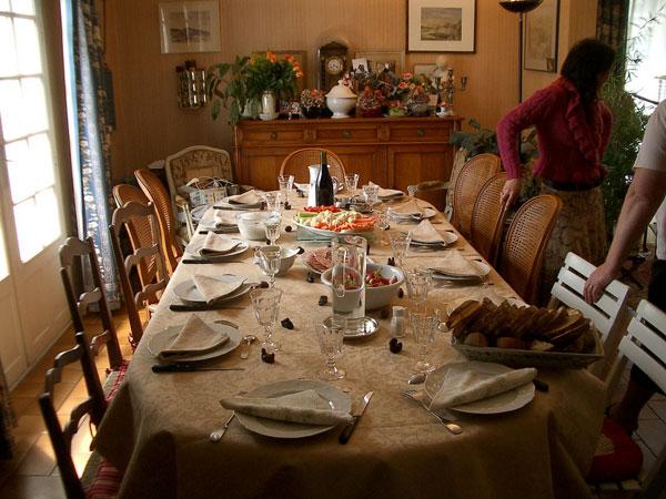 Table pour les grands