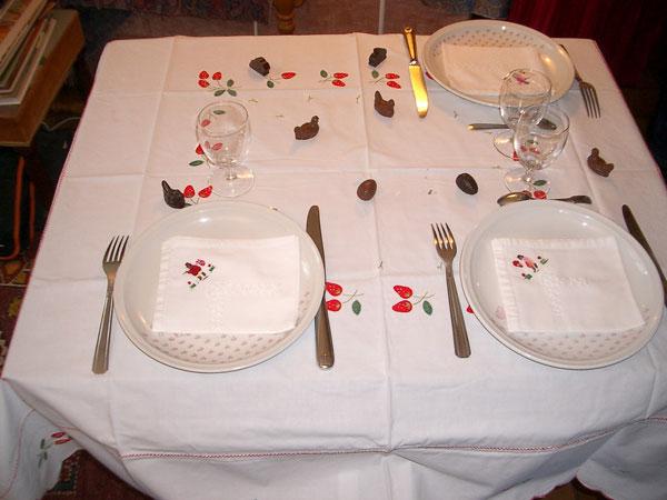Table pour les petits