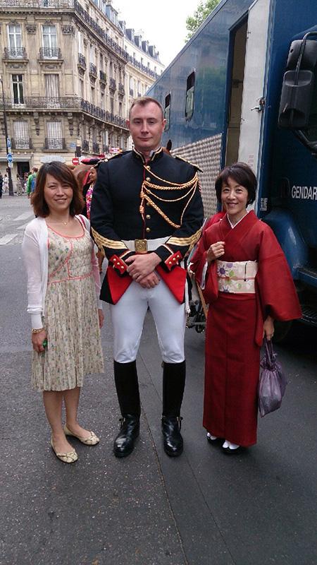 Avec les Gardes Françaises #1