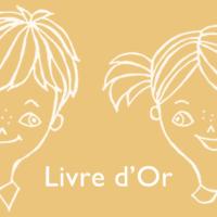学校行かずにフランス語!「ゲストブック」