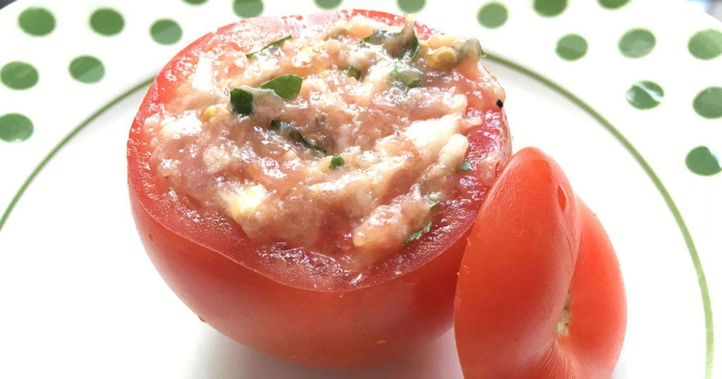 Remplissez votre tomate