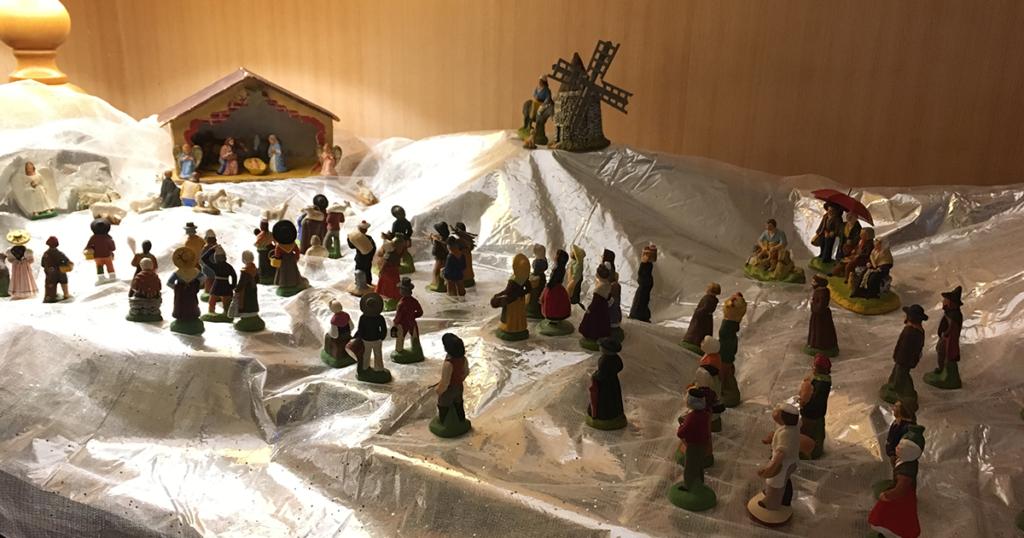 La crèche de Noël